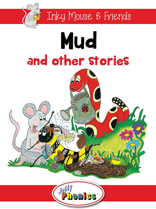 Paperback Readers Level 1 Inky Mouse & Friends (in precursive letters)