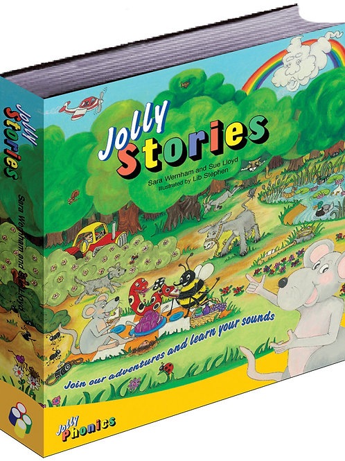 Jolly Stories (in print letters): 受注受付