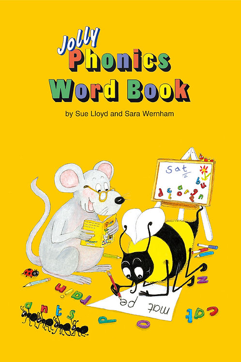 The Phonics Word Book (US / in print letters)