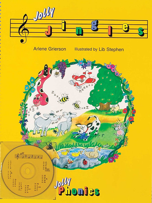 Jolly Jingles (book and CD )