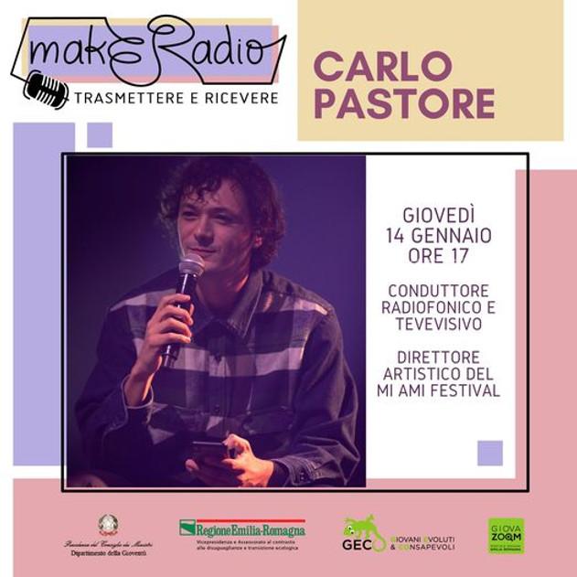makERadio - con Carlo Pastore