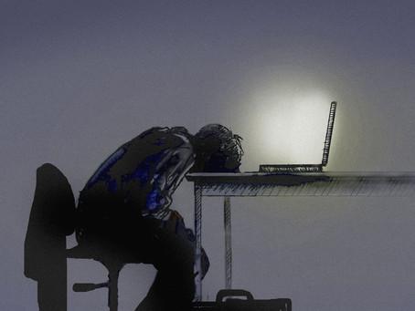 Tahmainen pimeys – 5 vinkkiä jähmeän työmoodin kanssa olemiseen