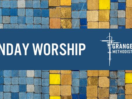 Sunday Worship 10th October 2021