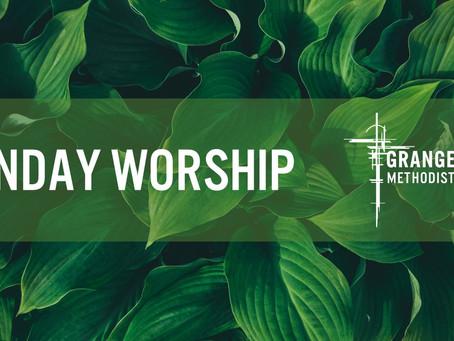 Sunday Worship 24th October 2021