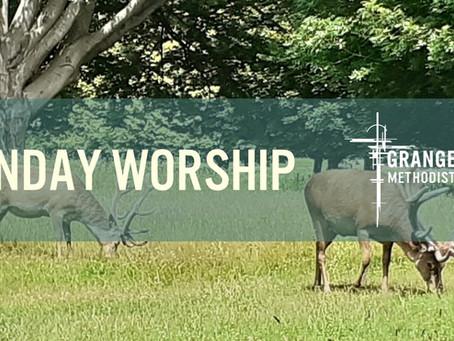 Sunday Worship - 4th July 2021