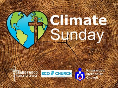 Sunday Worship - 13th June 2021 - Climate Sunday