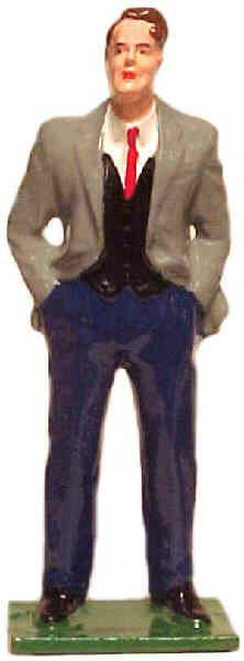 #080 - Man Wearing Vest