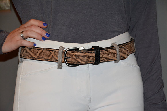 Elephant Leather Belt
