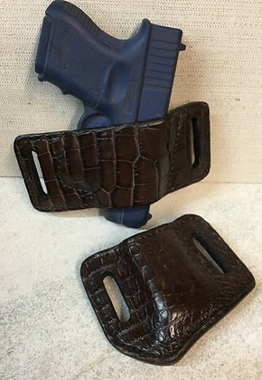 Chocolate Alligator set Glock 26,19,17