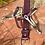 Thumbnail: Eggplant Purple Leather  Belt