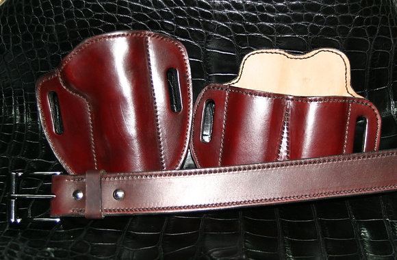 Commissioned Gun Leather