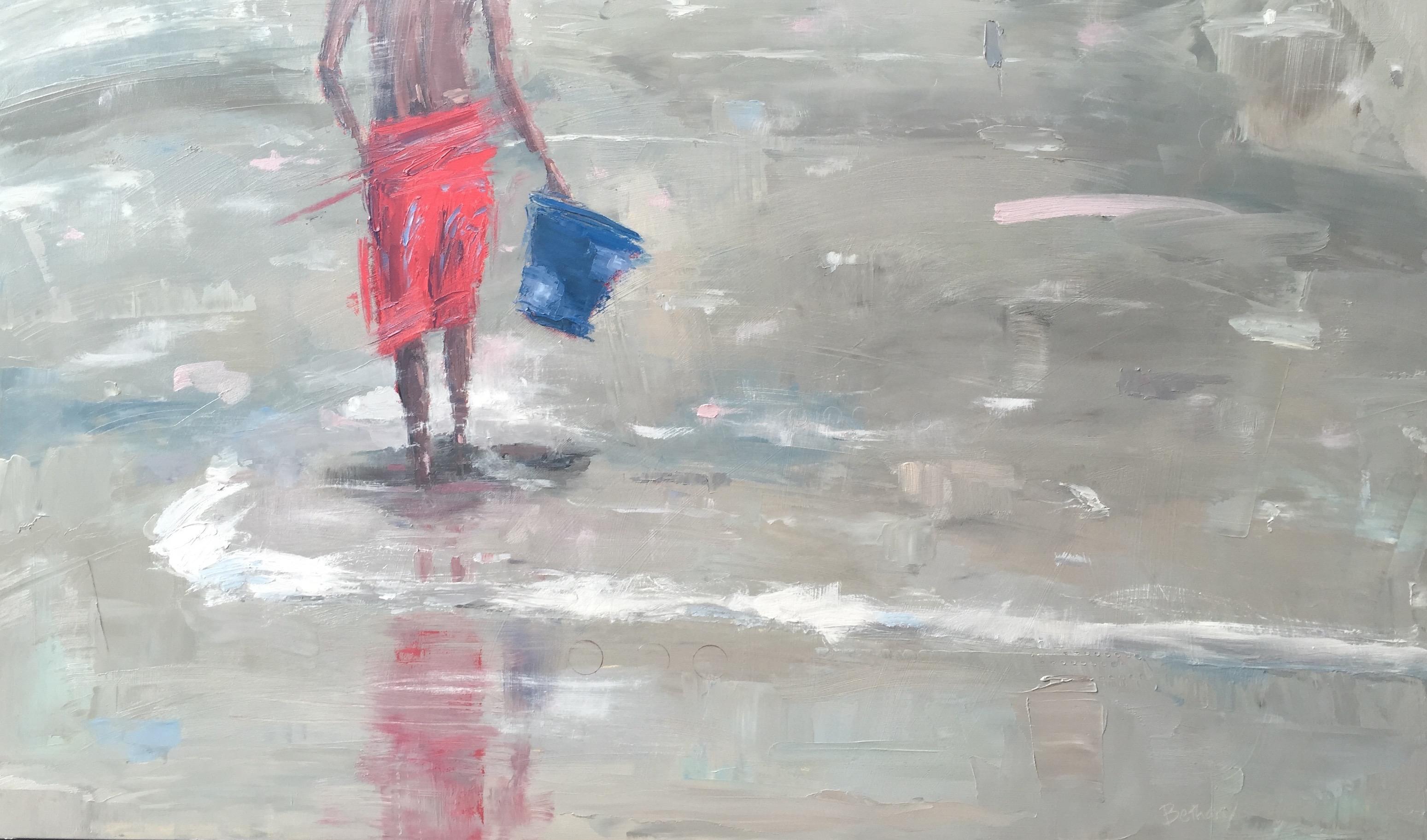 Warm Sand, blue bucket