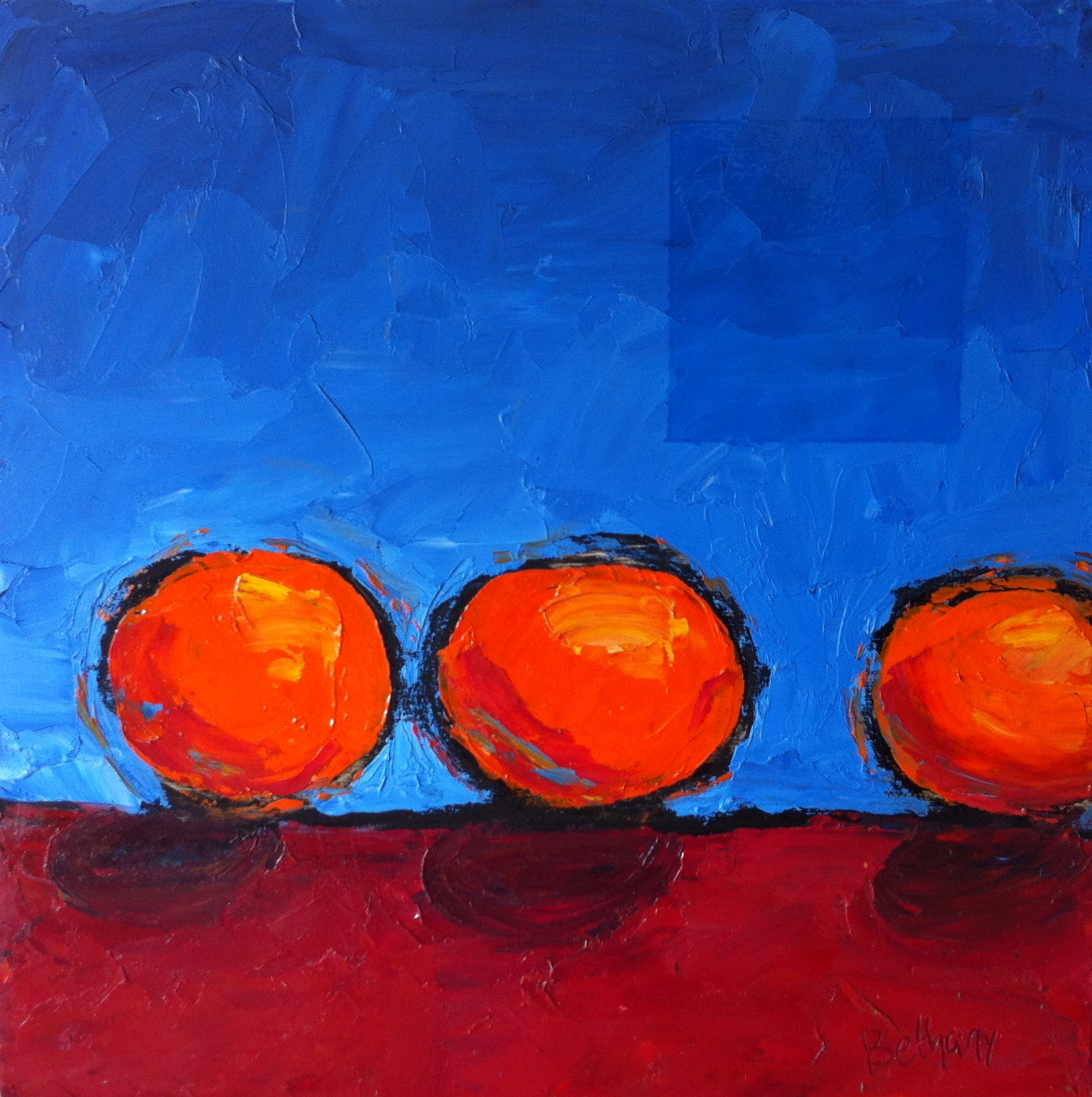 Three Small Oranges