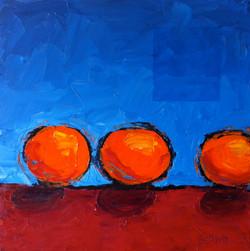 Three Small Oranges