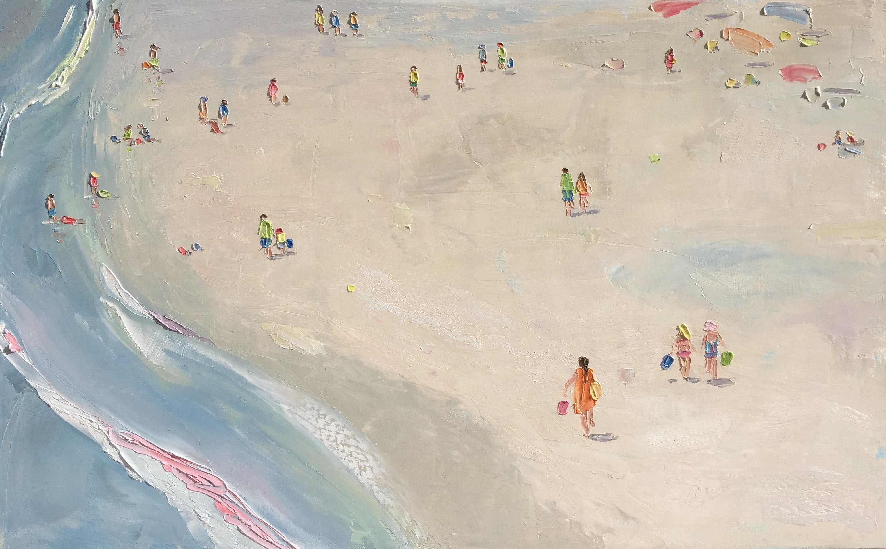 Beach Days - Yellow Beach Bag