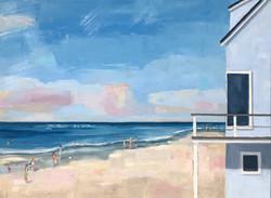 Grey Beach House
