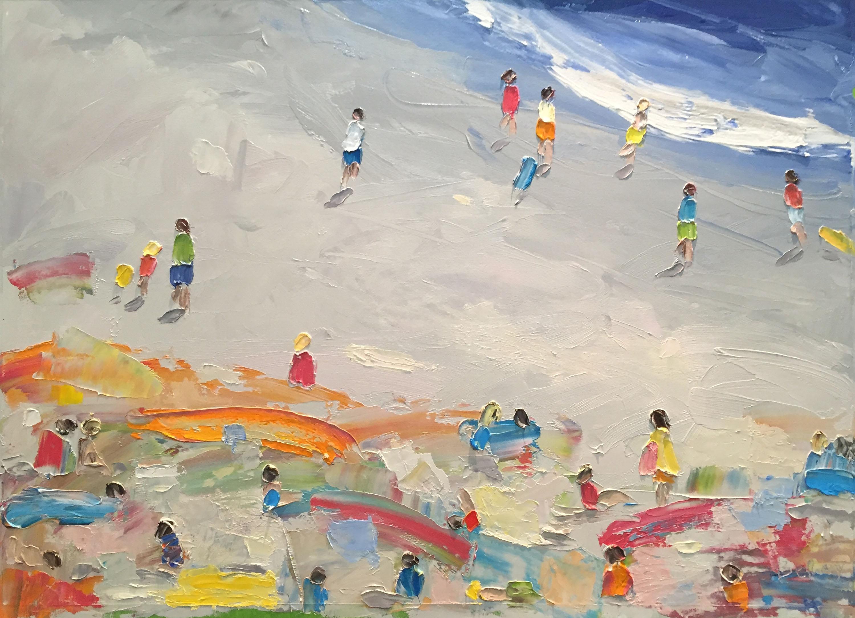 Beach Days - Yellow Beach Towel