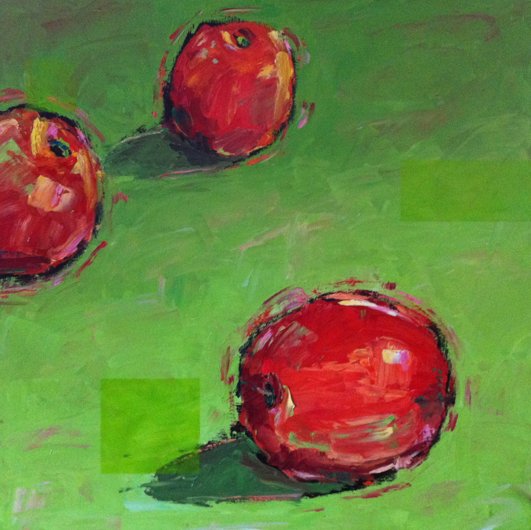 Two and a Half Red Apples