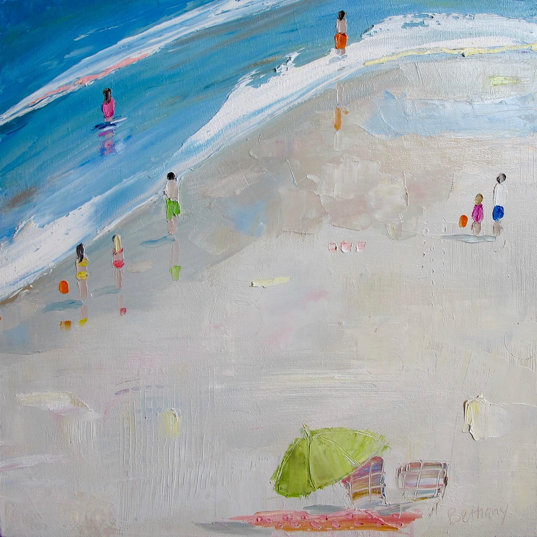 Beach Days - Green Umbrella