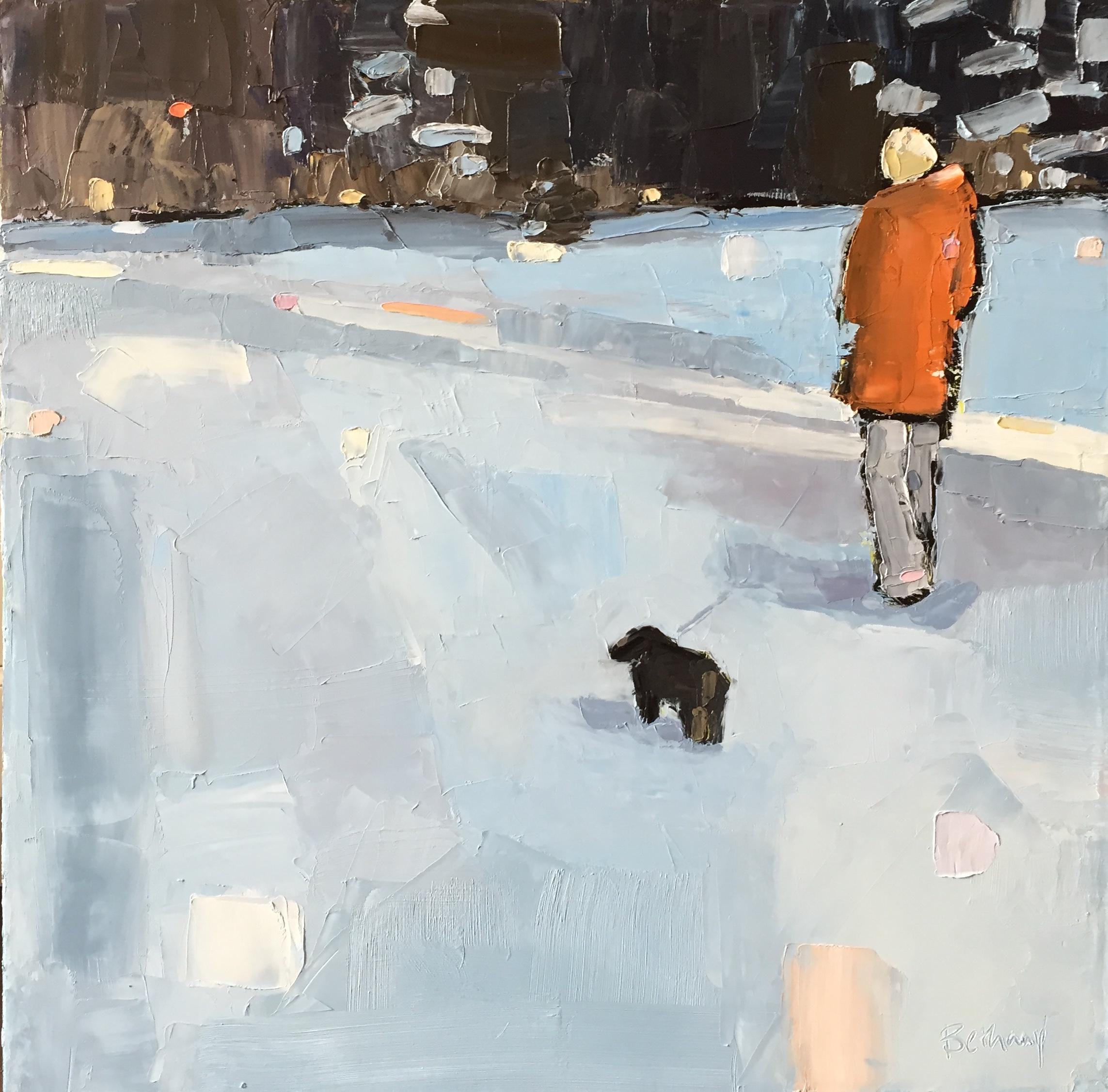 Sun-Kissed Snow Walk