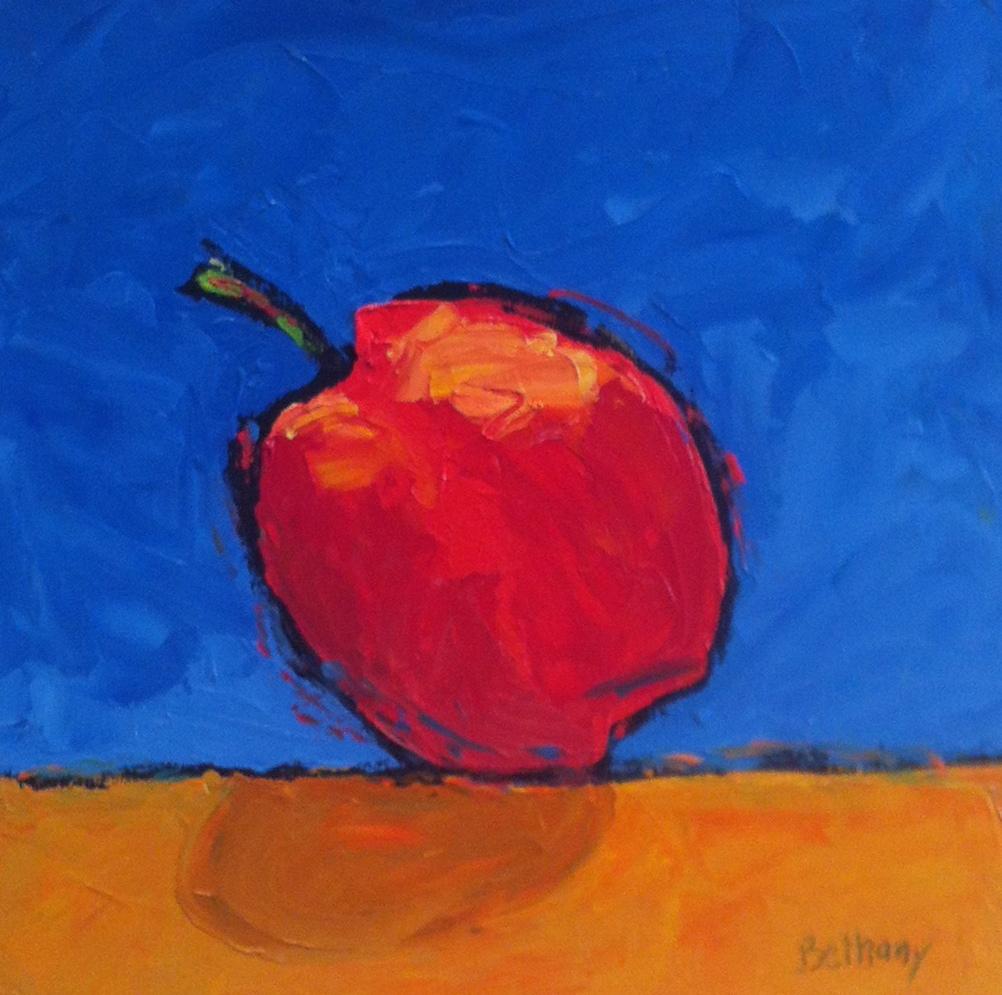 One Large Peach