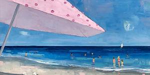 Pink Umbrella Grey chairs 30x48 2020.jpe