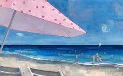 Under the Pink Umbrella