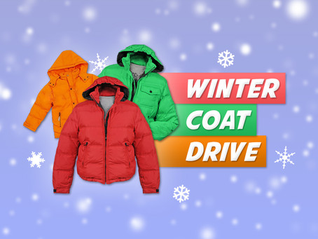 "5th Annual Coat Drive | ""Coats For Kids"""