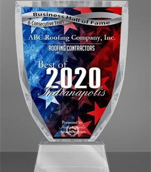 ABC Roofing Company, Inc. Receives 2020 Best of Indianapolis Award