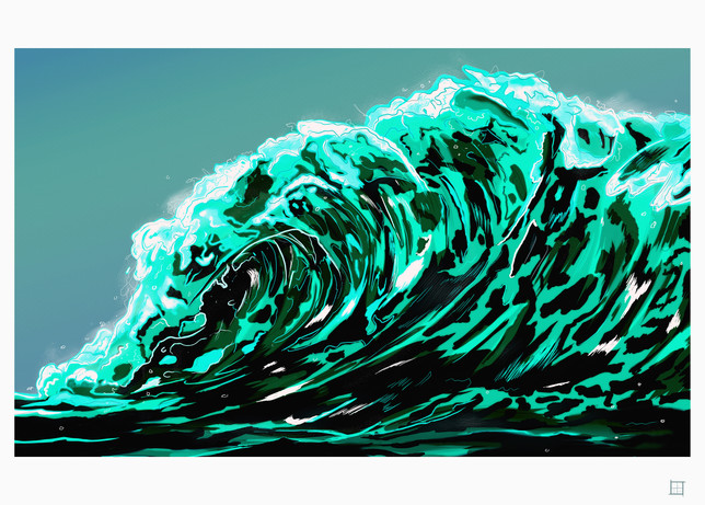 my great wave