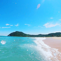 Praia da Silveira Garopaba SC