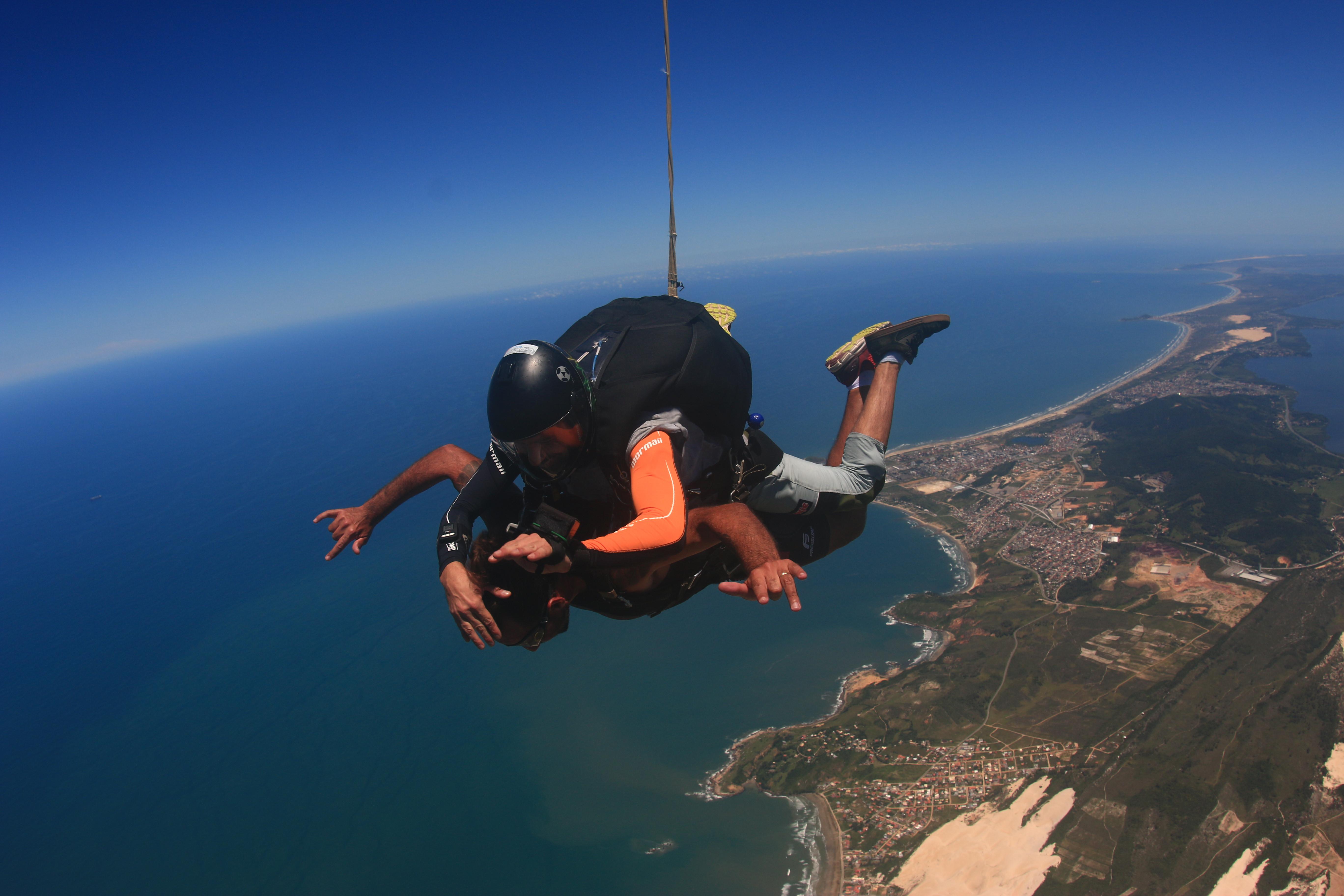 Salto Duplo Completo - Paraquedismo