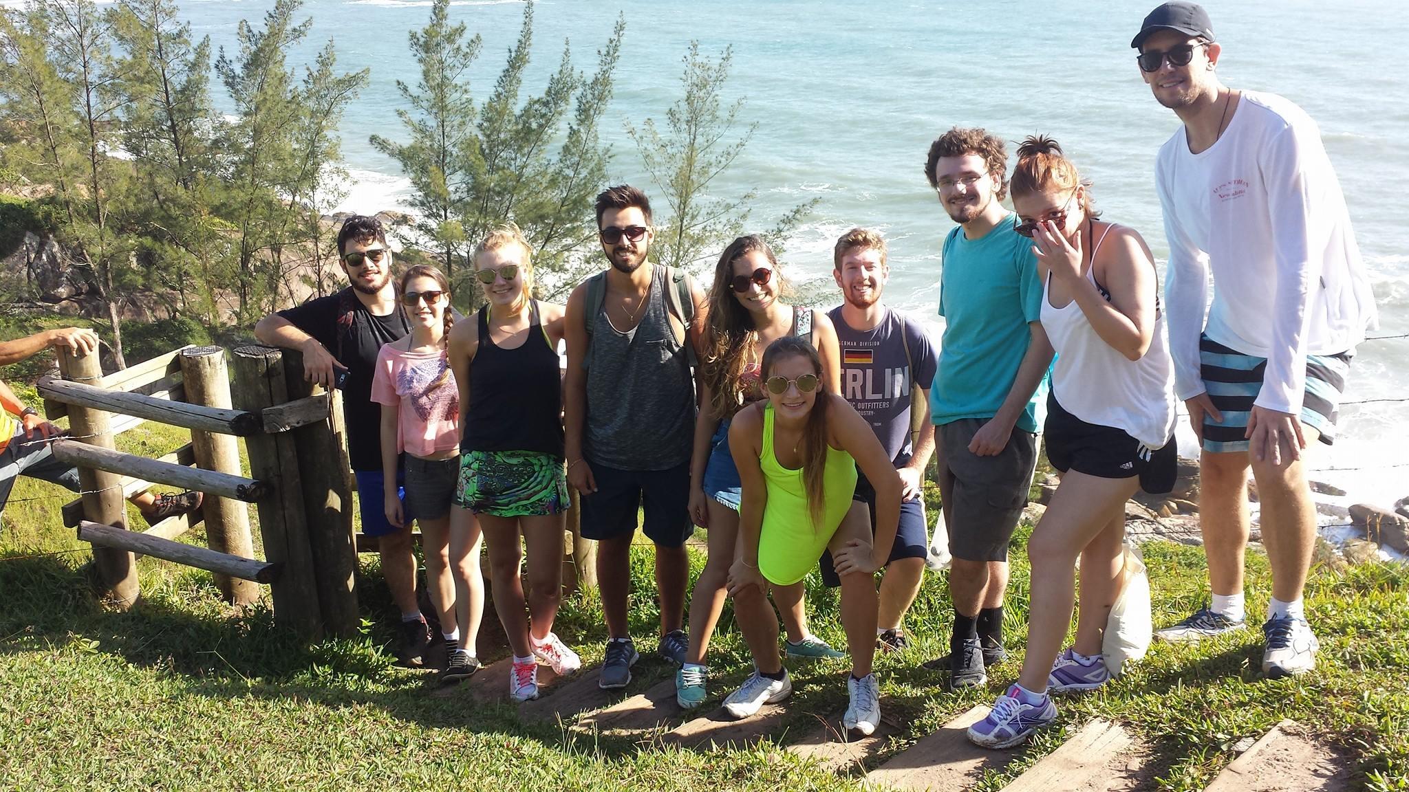 Grupo na Trilha Ouvidor-Rosa