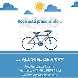 Aluguel de bike em Garopaba