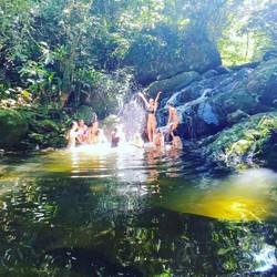 Cachoeira da Pedra Branca Garopaba