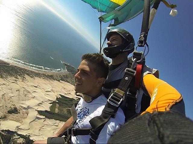 Salto Duplo Basico - Paraquedismo