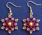 Beaded Flower Motif - Earrings.jpg