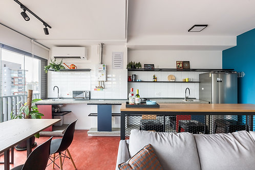 Apartamento na Vila Mariana com 1 dormitório - 51m², 1 vaga e lazer completo