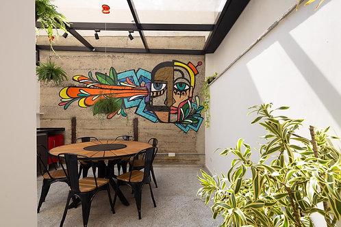 Apartamento design em Pinheiros - 56m², 1 dormitório, sem vaga