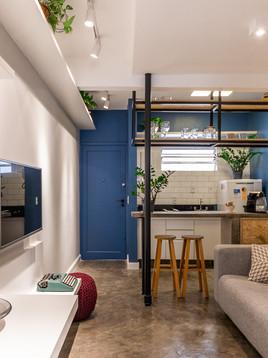 Tendência em Pinheiros: apartamento reformado com o estilo do bairro