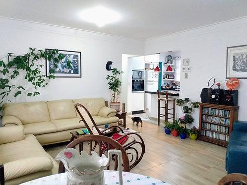 Apartamento amplo em Pinheiros - 107m², 3 dormitórios (suíte), 1 vaga