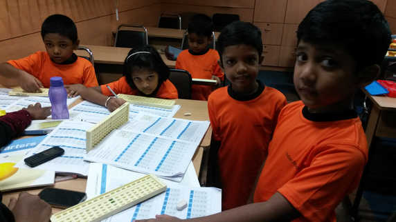 Indian Abacus Class Room 10