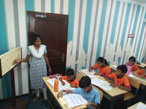Indian Abacus Class Room 5