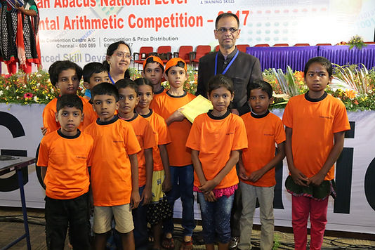 Indian Abacus National Level Competition 2017