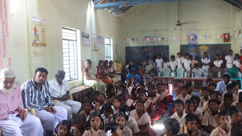 Indian Abacus Pilot Project for 5 Government School Children in Thiruvarur District