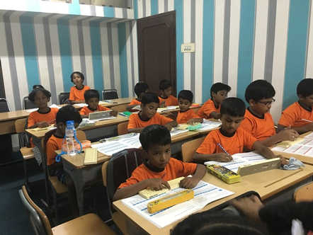 Indian Abacus Class Room 1