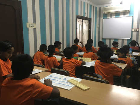 Indian Abacus Class Room 12