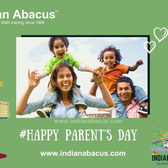 #Happy parents day 2021-Indianabacus