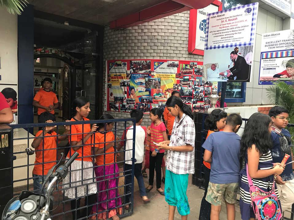 Indian Abacus Diwali 2017 Celebration 6