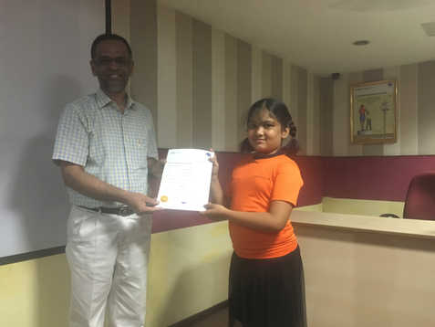 Indian Abacus Certificate Distribution 4